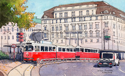 비엔나의 트램