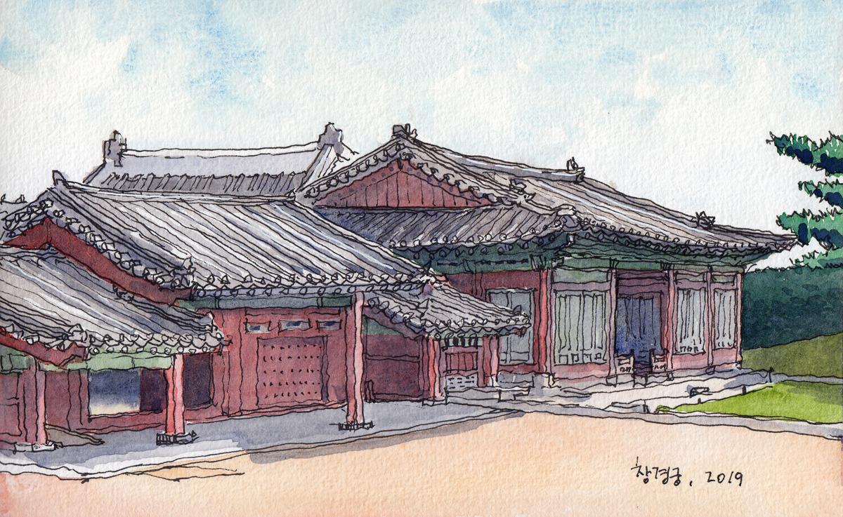 빈양문과 숭문당