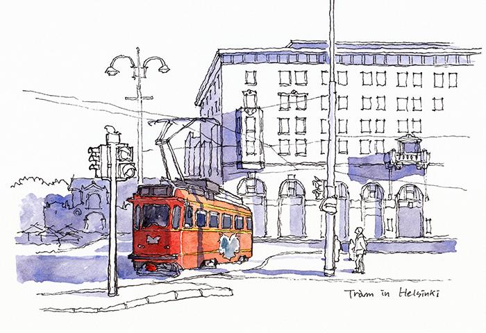 헬싱키의 트램