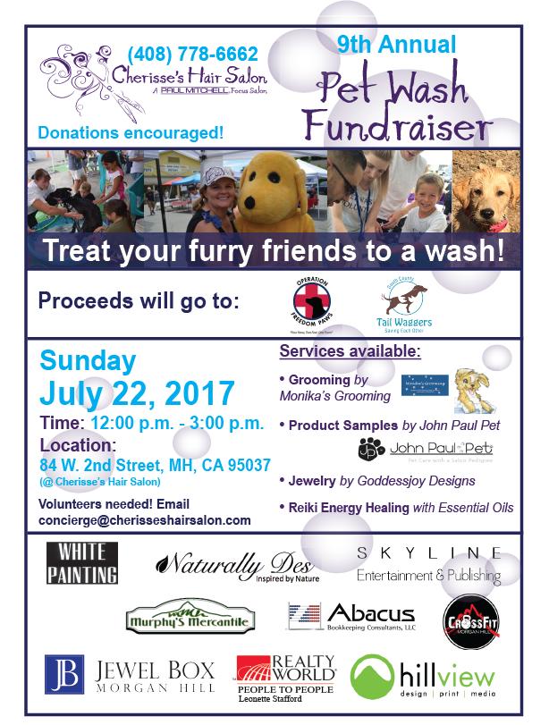 9th Annual Pet Wash Fundraiser at Cherisse's Hair Salon