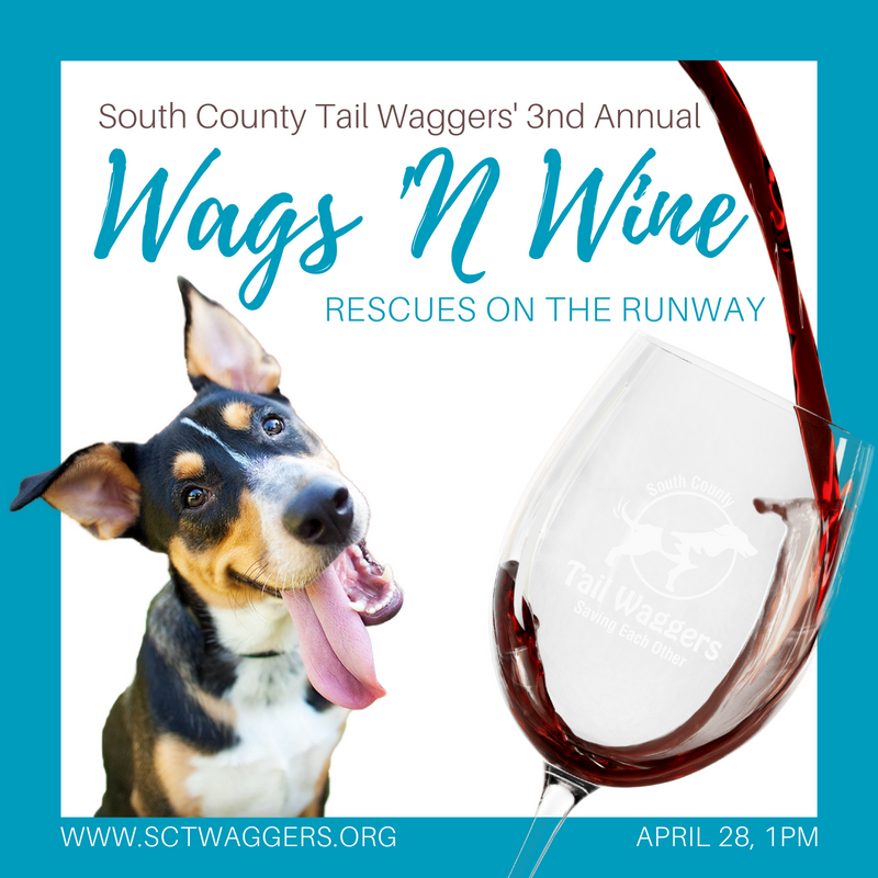 3rd Annual Wags 'N Wine - Rescues on the Runway