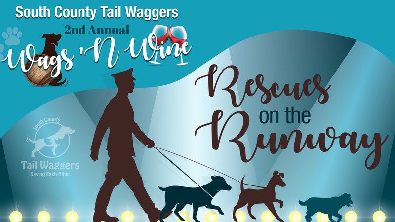 2nd Annual Wags 'N Wine - Rescues on the Runway
