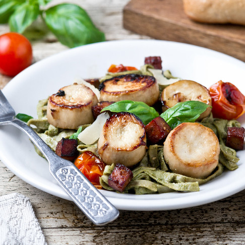 Oyster Mushroom Scallops, Jalapeño Poppers & Blackberry Lavender Ice Cream are Recipe(s) of the Week