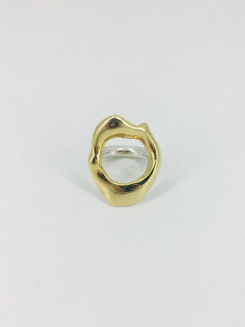 MIRA RING GOLD PLATED