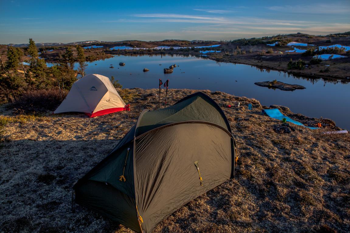 Camping au lac du Faucon Pèlerin