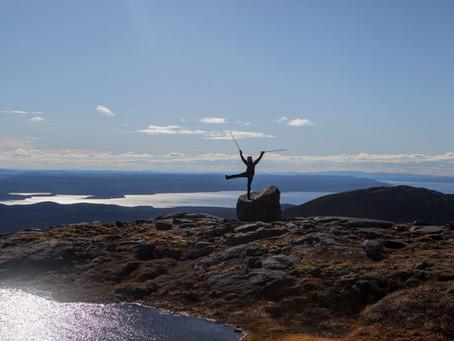 Monts Groulx, 4 jours d'hauteur sur slush blanche! (du 9 au 16 Juin)