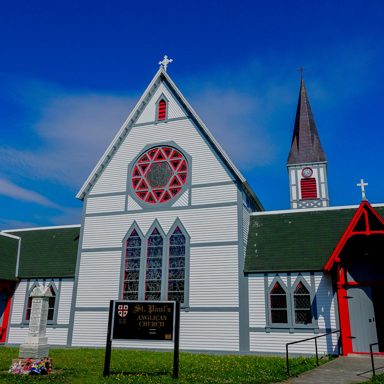 Église anglicane à Trinity