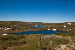 Lac Goéland et Nomade