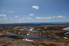 Vu au sommet du Jauffret