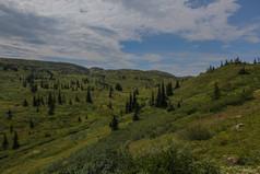Vallée sud du lac Joyel