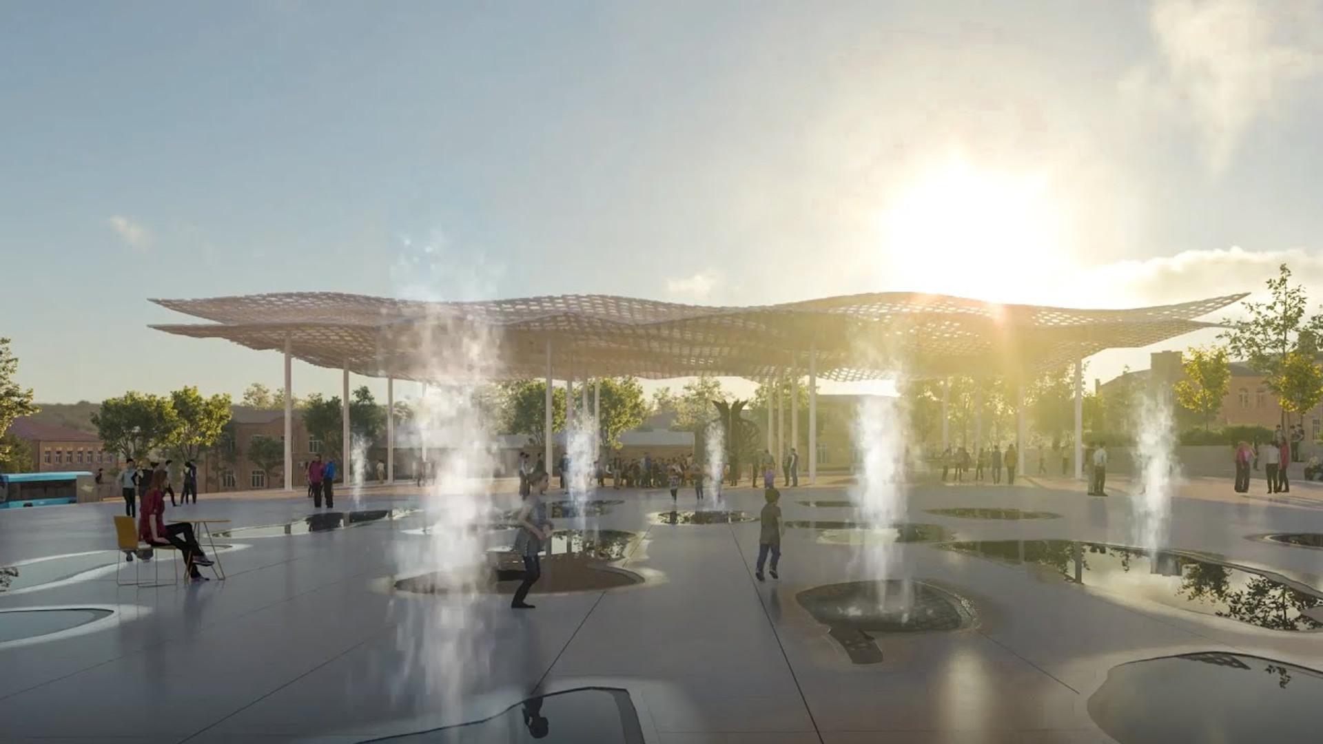 Derbent masterplan   IND Architects