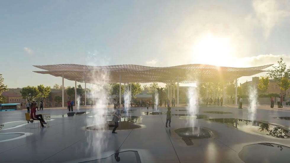 Derbent masterplan | IND Architects