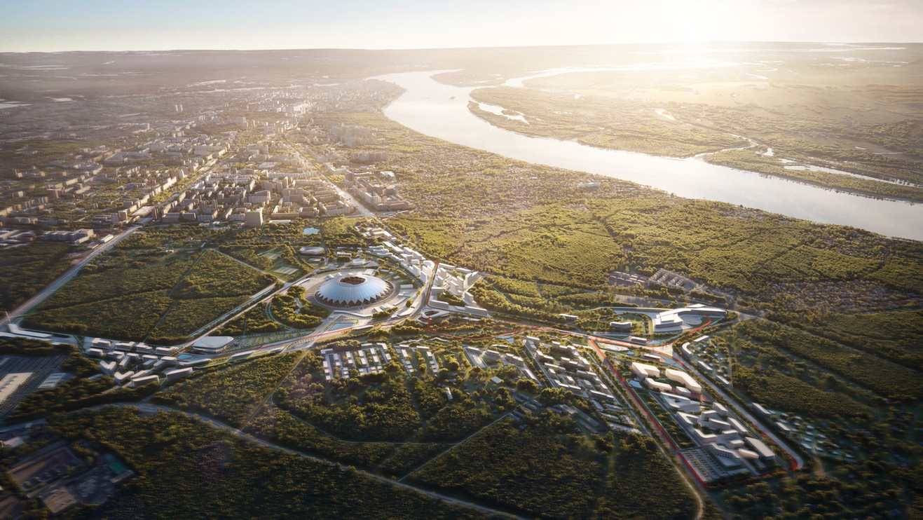 A4 | IND Architects, UNStudio, JTP, Knight Fight Russia