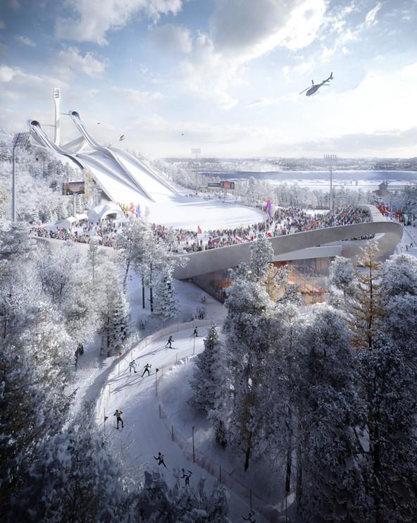 Almetyevsk masterplan | Bureau B+B, JTP Studios, DA!ARchitects, IND Architects