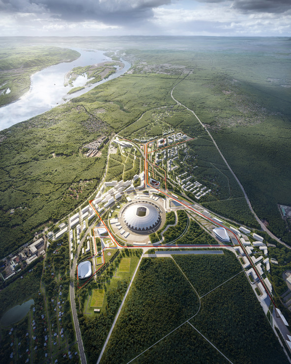A4   IND Architects, UNStudio, JTP, Knight Fight Russia