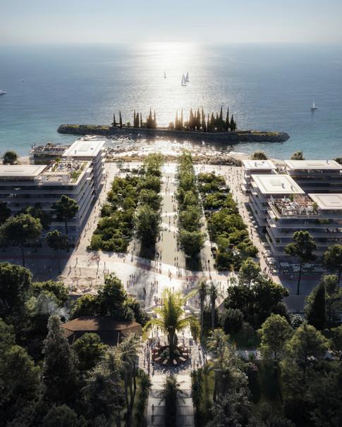 Sochi Waterfront | IND Architects, Royal HaskoningDHV, LDA Design