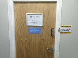 Our Front Door In Caxton Point Business Centre