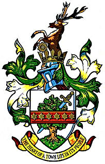 Stevenage coat of arms