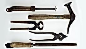 Schuh-Reparatur-Werkzeuge