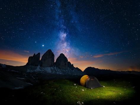 Dolomiti sotto le stelle