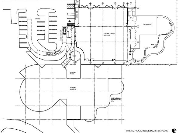 A site plan drawing by United Architects