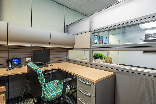 Miami-Dade County Office Cubicle