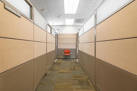 Miami-Dade County Office Private Corridor