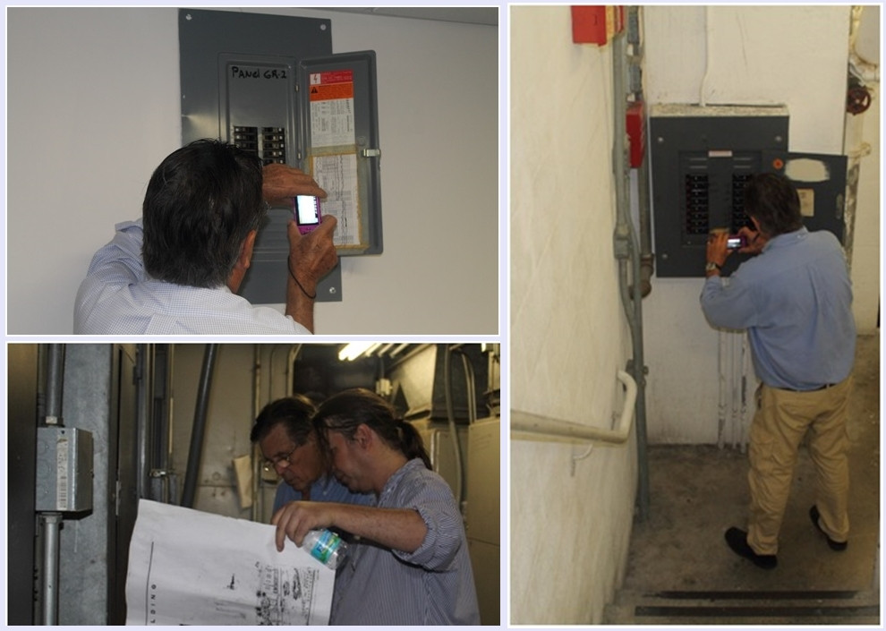 Electrical engineers at work in 40-year re-certification