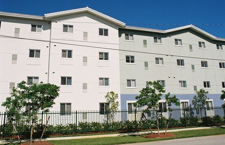 4-story affordable housing apartment building