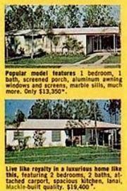 Key Biscayne Mackle Houses