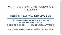 This is the real estate agent information of Maria Luisa Castellanos