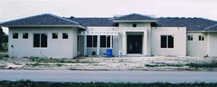 Photo of a house under construction by United Architects