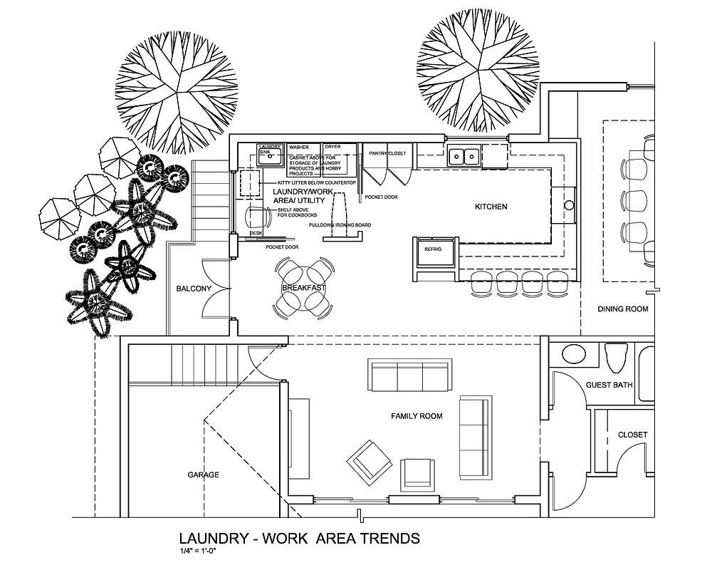 Laundry Room/ Work Area/ Utility Room Sample