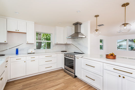 Kitchen in Coconut Grove after remodeling by United Architects