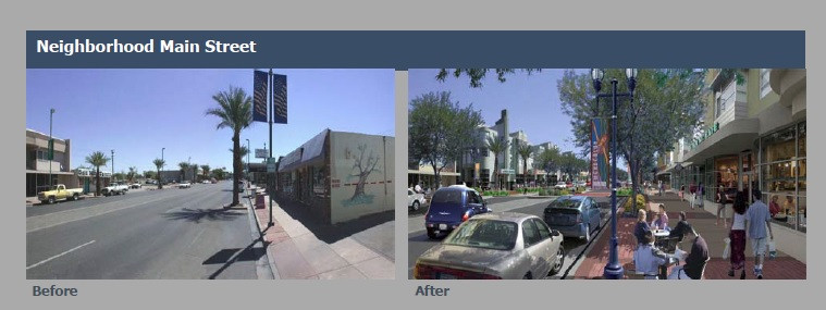 Photo of Neighborhood Main Street by City of Miami Planning Dept.