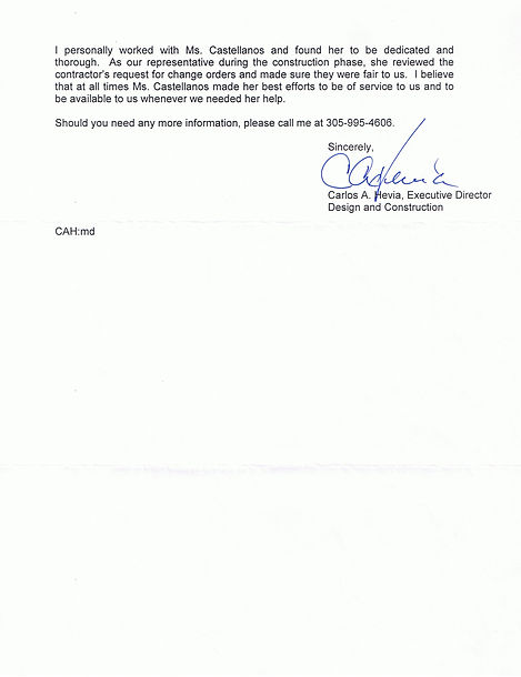 Letter of reference from MDCPS - page 2