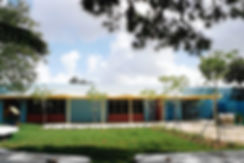 This is the rear view of the Ophelia Brown-Lawson Pre-school facility