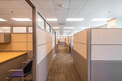 Miami-Dade County Office Hallway