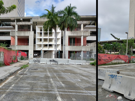 Do we want tourists to see this – the entrance to Downtown Miami Government Center and Metrorail?