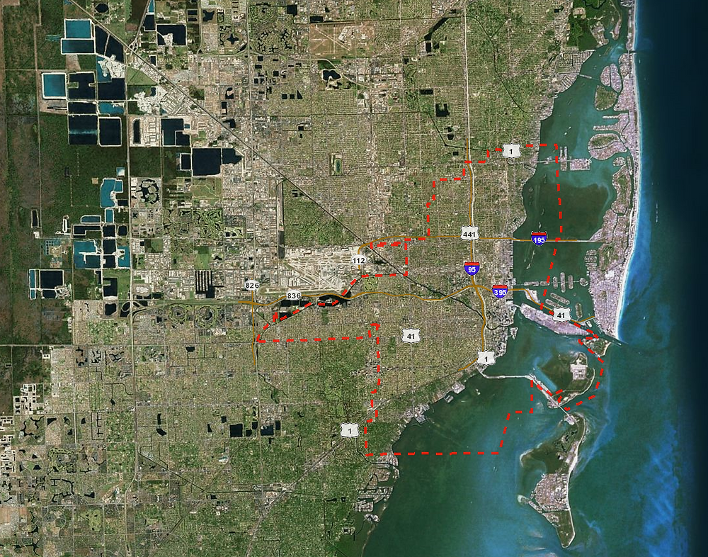 City of Miami Zoning Atlas from http://maps.miamigov.com/miamizoning