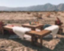 Rustic Lounge Set