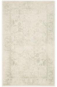 Pale green tradiional rug rental