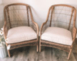 WICKER CHAIR RENTAL