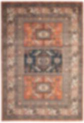 Terracotta BOHO rug rental