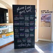 Chalkboard Panel Wall