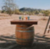 Wine Barrel Cocktail Bar