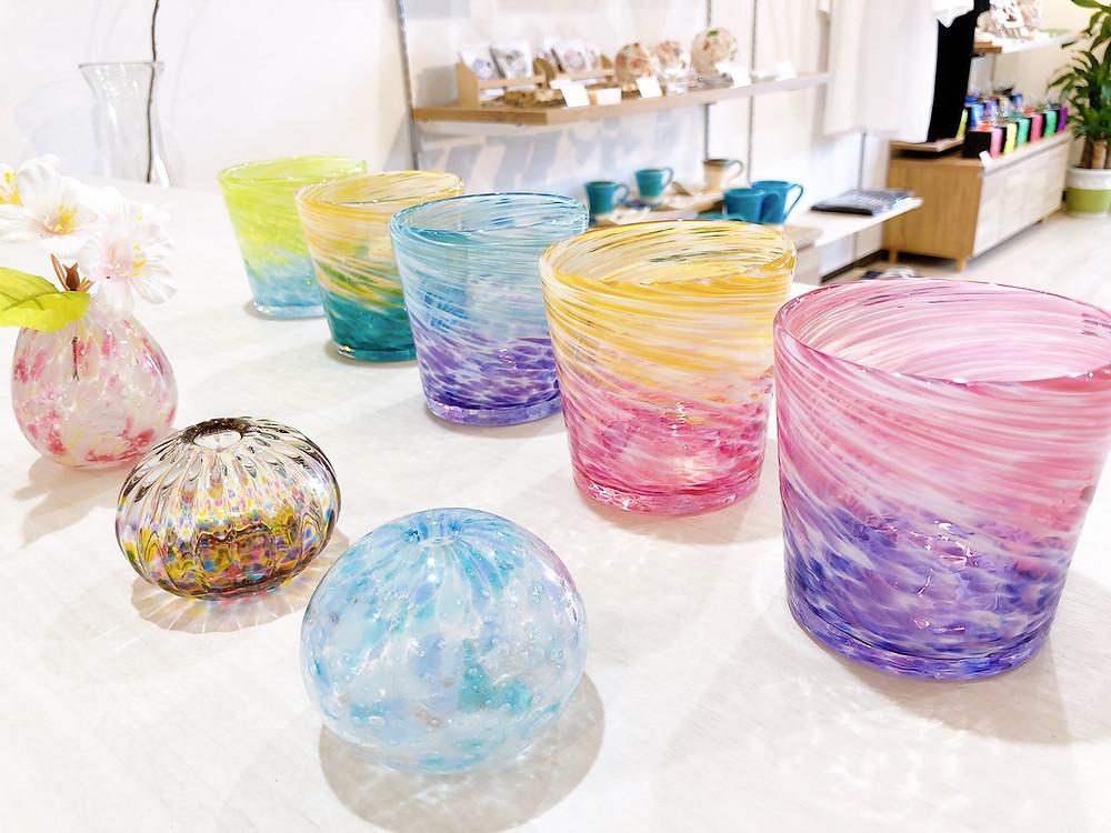 琉球ガラス やちむん  沖縄 宮古島 おすすめ 可愛い 人気 通販 一輪挿し
