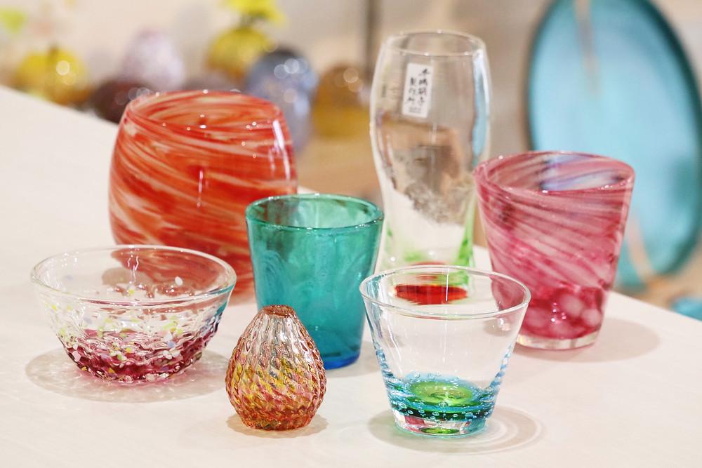 琉球ガラス クリスマスカラー かわいい 人気 おすすめ 通販 宮古島