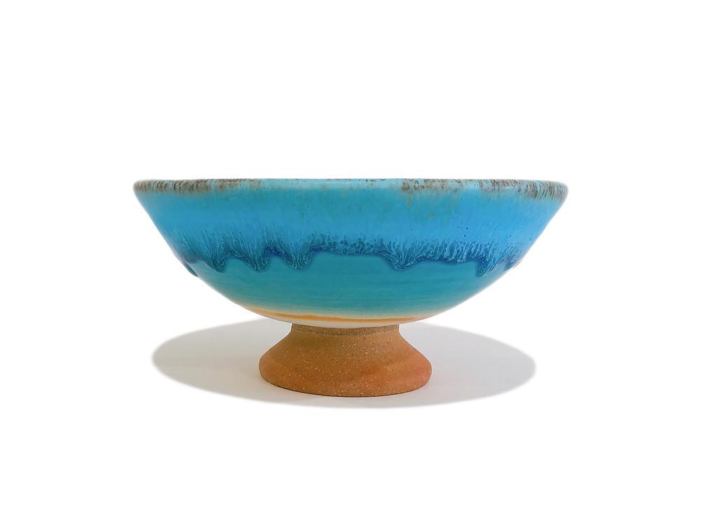 うるま陶器 脚付皿 通販 値段 やちむん 琉球ガラス 沖縄