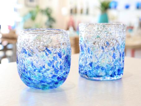 琉球ガラス 煌スプラッシュ入荷